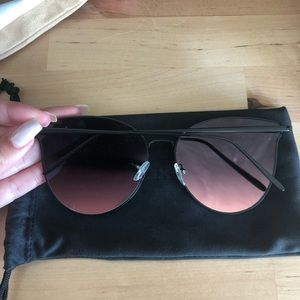 Accessories - Pink Tint Sunglasses